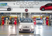 Fiat 500 al 1 miljoen keer uit Polen