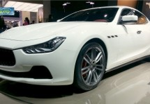 Maserati Ghibli live in Auto Shanghai 2013