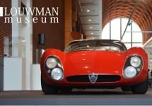 Koninklijke Alfa Romeo Stijl Iconen bij vorstelijk Louwman Museum