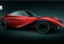 Reïncarnatie van Moretti is een elektrische auto