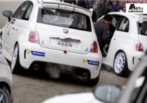 Abarth Trofeo Selenia Europa en Make it Your Race van start