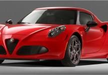 Alfa Romeo 4C straks vol gas over Goodwood