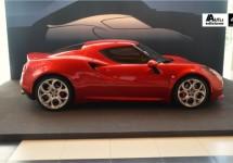 Nederlands debuut 4C vond plaats in unieke Alfa Romeo ambiance