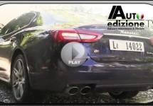 VIDEO: De indrukwekkende sound van de Maserati Quattroporte V6