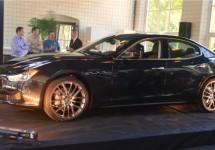 Sfeervol Nederlands debuut Maserati Ghibli in Eindhoven