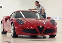Alfa Romeo 4c doet fameuze 'Hillclimb' op Goodwood