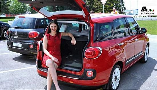 Fiat 500l Living Durft Te Flaneren Tijdens Debuut In