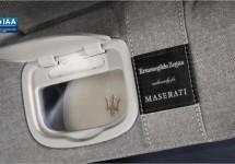 Maserati Quattroporte met Zegna stofje naar IAA