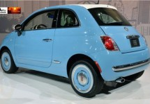 Fiat 500 1957 Edition live in Los Angeles