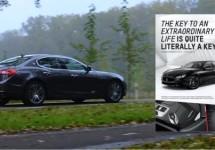 Maserati bereidt uitgebreide reclamecampage Ghibli voor