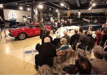 Boekpresentatie 100 jaar Maserati start van Centenario