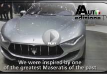 Video ontwikkeling Maserati Alfieri concept