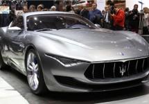 Maserati trekt doek van Alfieri concept