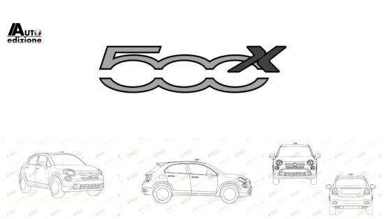 fiat patenteert 500x logo