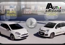 Promo Fiat Panda en Punto Young op melodie van Happy