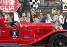 AutoEdizione naar de start van de Mille Miglia 2014