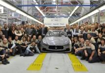 Honderden werknemers Mirafiori aan de slag bij Maserati