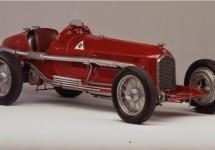 De Alfa Romeo's van Museo Storico op Goodwood 2014