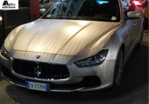 Lapo Elkann heeft nu ook Maserati Ghibli met krijtstreepje