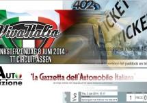 AutoEdizione geeft kaarten weg voor Viva Italia 2014