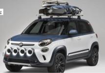 Fiat 500L Vans Concept toont Italiaans surfgenot