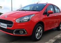 Fiat Punto Evo versie 2.0 voor India