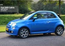Test Fiat 500S Cabrio: Altijd zomers en stijlvol