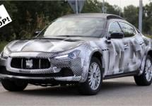 SCOOP: Maserati Levante SUV voor het eerst gespot