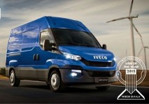 Iveco Daily is Van of the Year 2015