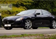 Test Maserati Quattroporte V6 Diesel