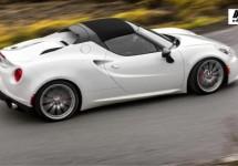 Alfa Romeo 4C Spider start officieel in Detroit