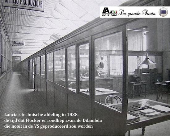 Lancia 1928 kantoor
