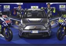 Abarth logo nu op de Yamaha van Valentino Rossi