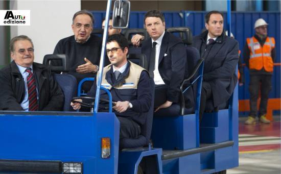 Marchionne Renzi mirafiori