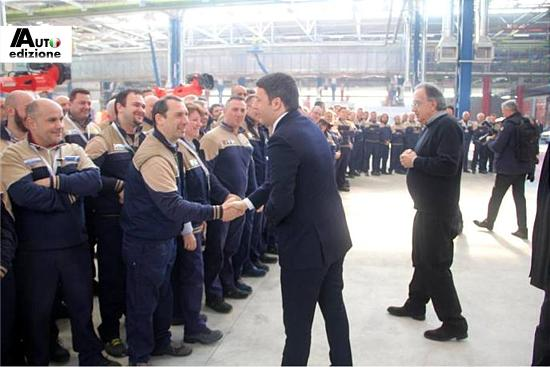 Marchionne Renzi mirafiori3