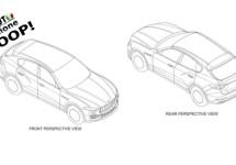 Contouren SUV Maserati Levante uitgelekt