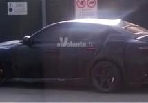 Nieuwe foto's van rode Alfa Giulia