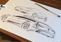Eerste schetsen nieuwe Alfa Romeo Giulietta 'uitgelekt'