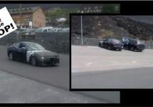 E-segment Alfa Romeo gespot met verlengd Ghibli jasje