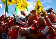 Ferrari eert Bianchi met overwinning en doet Lauda zwijgen