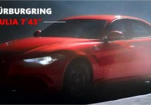 Alfa Romeo Giulia raast over Nürburgring in 7'43""
