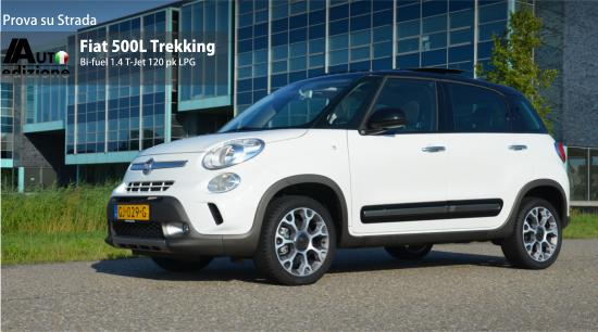 test fiat 500l trekking bifuel onvolprezen multitalent auto edizione. Black Bedroom Furniture Sets. Home Design Ideas
