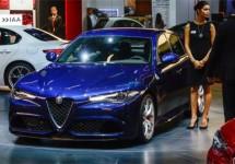 Alleen Alfa Romeo Giulia Quadrifoglio op IAA