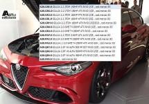 Alle motoren van de Alfa Romeo Giulia op een rijtje