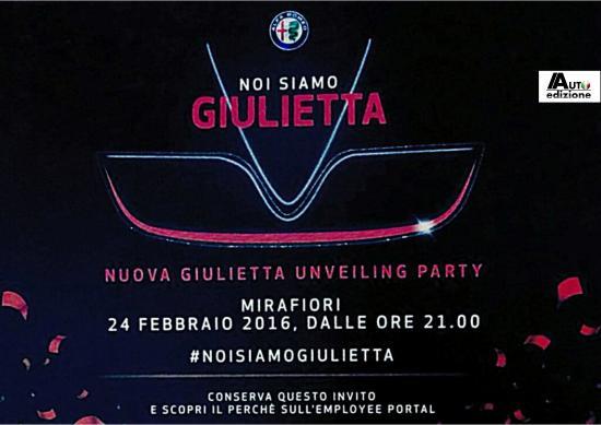 giulietta facelift party