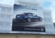Lingotto trots op Alfa Romeo Giulia