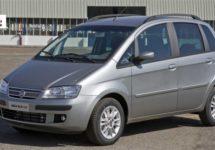 Fiat Idea uit productie