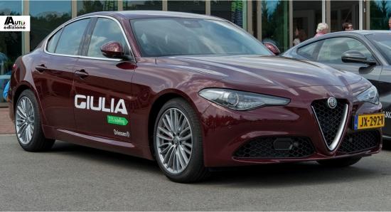 Alfa Romeo Start Leveringen Giulia 2 0 Turbo Auto Edizione