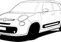 Mogelijk een facelift voor Fiat 500L in 2017