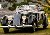 Lancia's zuivere schoonheid zegeviert op Pebble Beach